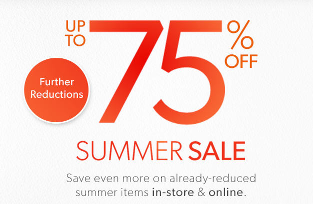 Chapters Indigo Summer Sale - Now up to 75 Off