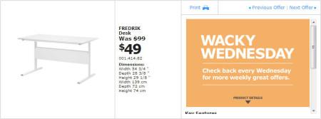 IKEA - Winnipeg Wacky Wednesday Deal of the Day (July 3) A