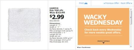 IKEA - Winnipeg Wacky Wednesday Deal of the Day (July 3) B